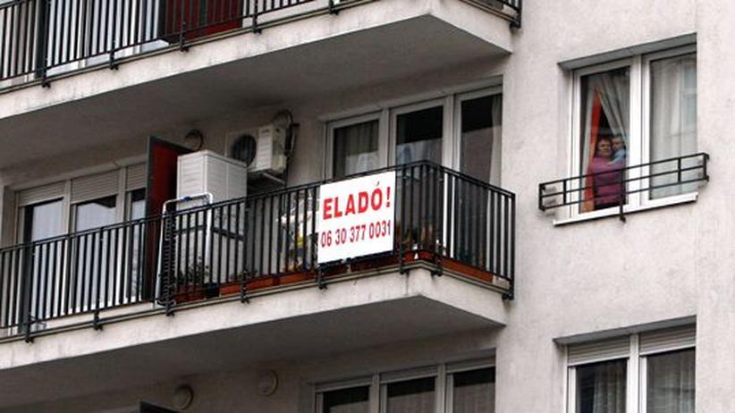 Wirtschaftskrise: Der Aufstieg des Schweizer Franken ruiniert Familien in Ungarn