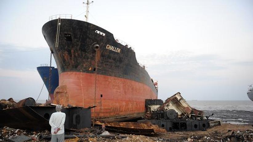 Schifffahrt: Abwracker sind die Krisengewinner