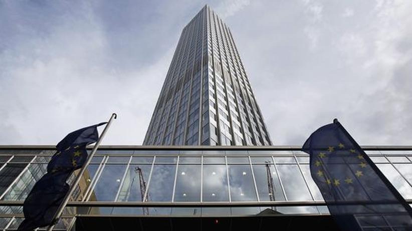 Euro-Krise: Die Europäische Zentralbank in Frankfurt