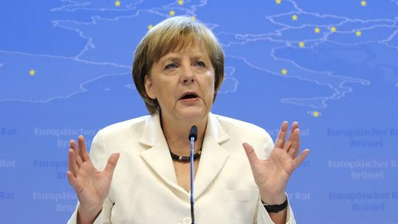 Euro-Krise: Merkel droht Griechenland pleitegehen zu lassen