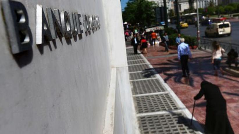 Finanzkrise: EZB hilft offenbar Griechenland aus akuter Zahlungsnot