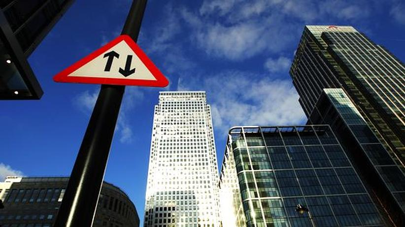 Libor-Skandal: Londons Wirtschaftszentrum Canary Wharf