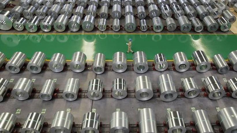 Konjunktur: Chinas Exportwachstum kommt fast zum Erliegen