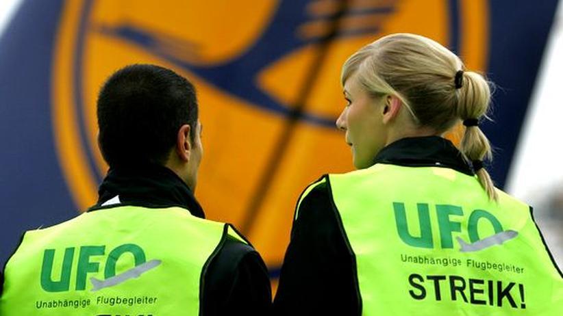 Tarifkonflikt: Kabinenpersonal der Lufthansa streikt