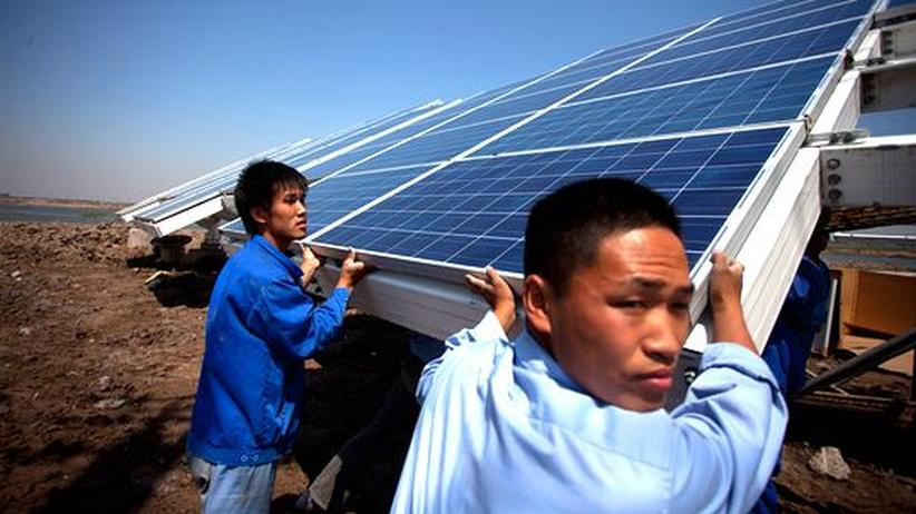 Solarbranche: Chinesische Solarfirmen auf Shoppingtour in Deutschland