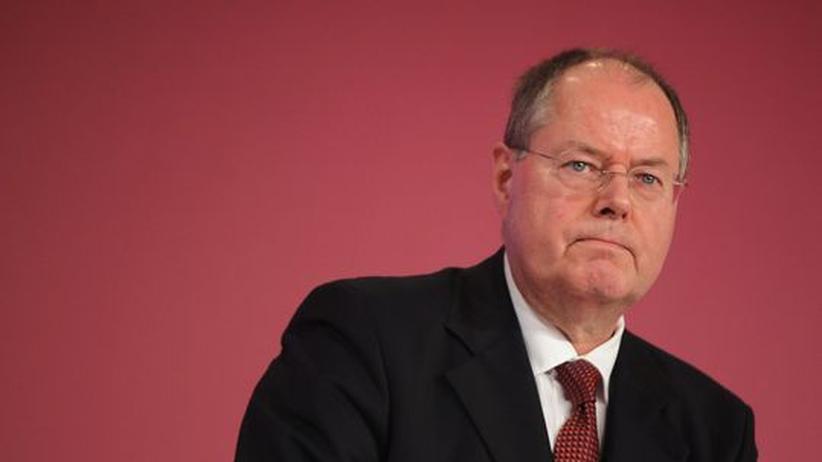Euro-Rettungschirm: Steinbrück stellt sich gegen Bankenhilfen aus ESM