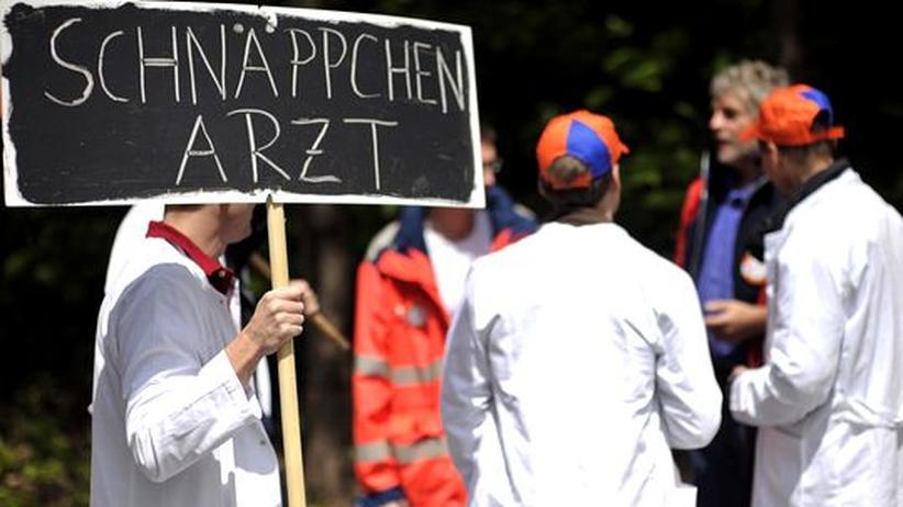 Streik-Drohung: Ärzte brechen Honorarverhandlungen ab