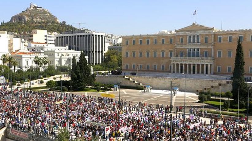 """Griechenland: """"Es gibt nichts mehr zu kürzen"""""""
