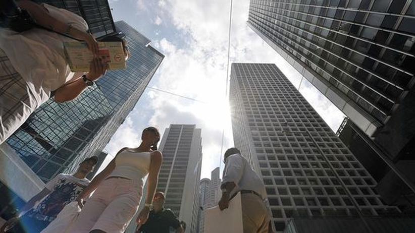 Steuerflucht: Bankenviertel in Hong Kong