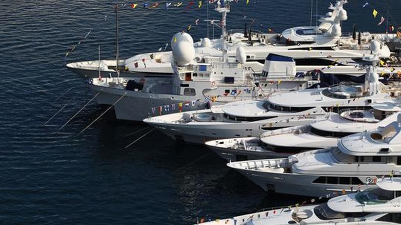Leistungsgerechtigkeit: Luxusyachten im Hafen von Monaco