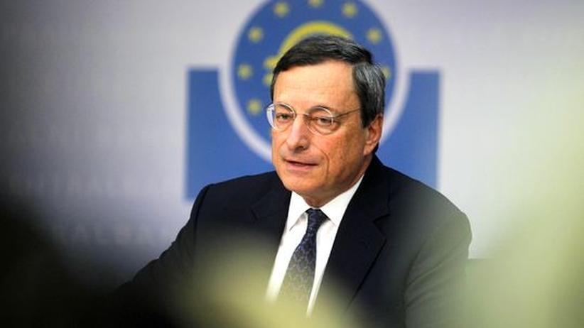 Euro-Krise: Draghi druckt