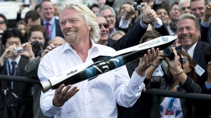 """Unternehmer Richard Branson: """"Wir ziehen das durch"""""""