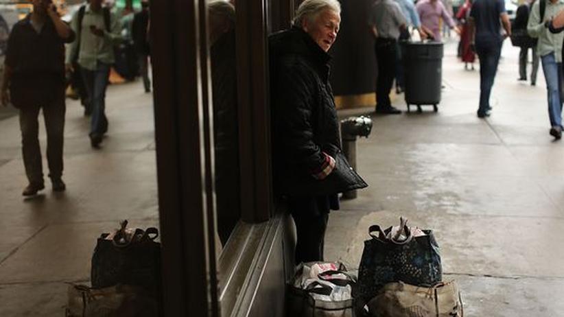 USA: Obdachloser in New York