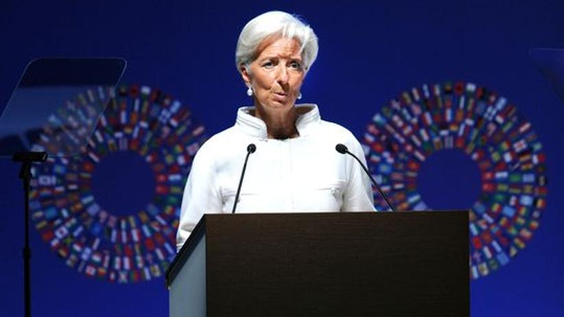 """IWF-Tagung: Lagarde sieht Schuldenstand wie """"in Kriegszeiten"""""""
