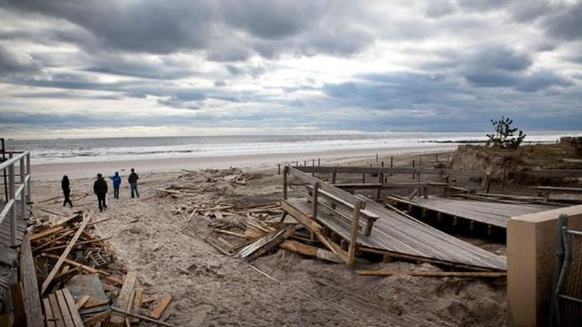 Wirbelsturm Sandy: Big Oil nimmt Amerika in Geiselhaft