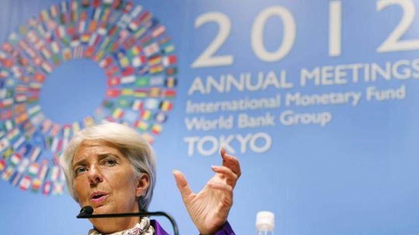 Schuldenkrise: IWF fordert mehr Wachstumsanreize