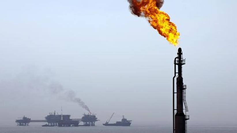 Drogenkartelle: Bohrplattformen der mexikanischen Ölgesellschaft Pemex im Golf von Mexiko (Archivbild)