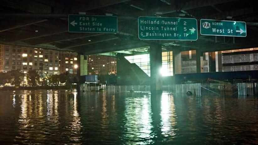 Sturmschäden: Sandy zeigt, wie marode Amerikas Infrastruktur ist