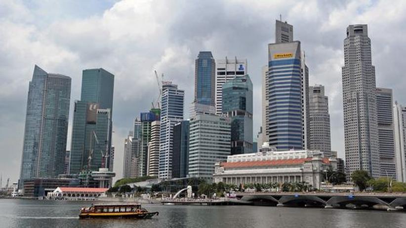 Schwarzgeld: Schäuble plant Steuerabkommen mit Singapur