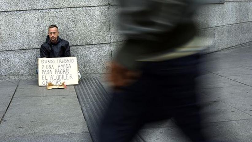 Euro-Krise: Arbeitslosigkeit erreicht neuen Negativrekord