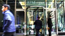 Der Hauptsitz von JP Morgan Chase in New York