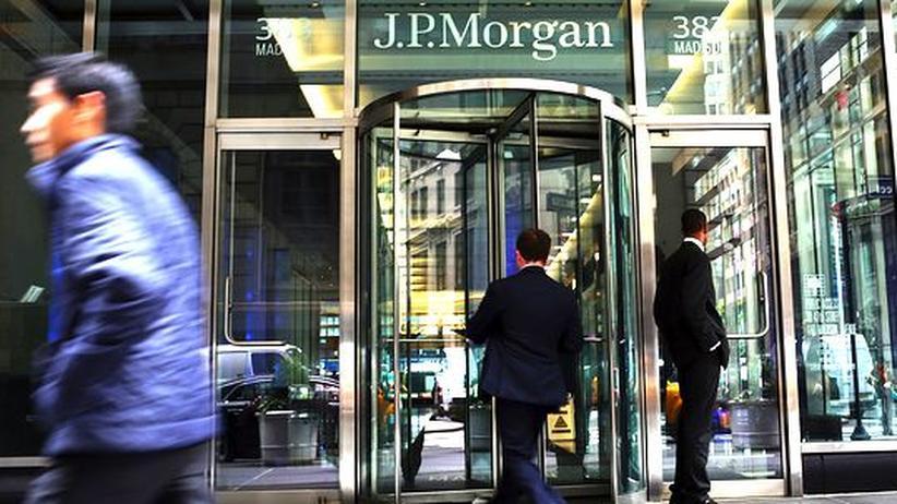 Finanzsektor: Der Hauptsitz von JP Morgan Chase in New York