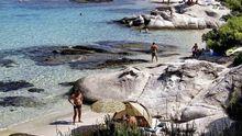 Strand in Chalkidiki in Griechenland  (Archiv)