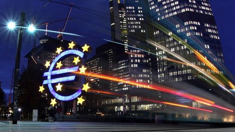 Währungsunion: Ohne die Deutschen? Die Europäische Zentralbank (noch in Frankfurt)