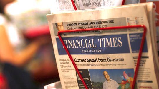 """Eine Ausgabe der """"Financial Times Deutschland"""""""