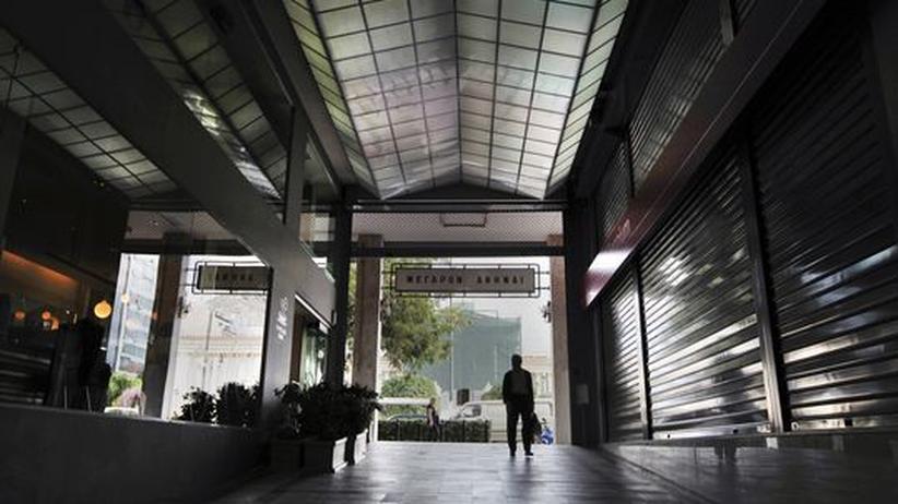 Sparprogramm: Griechenland wählt zwischen zwei größeren Übeln