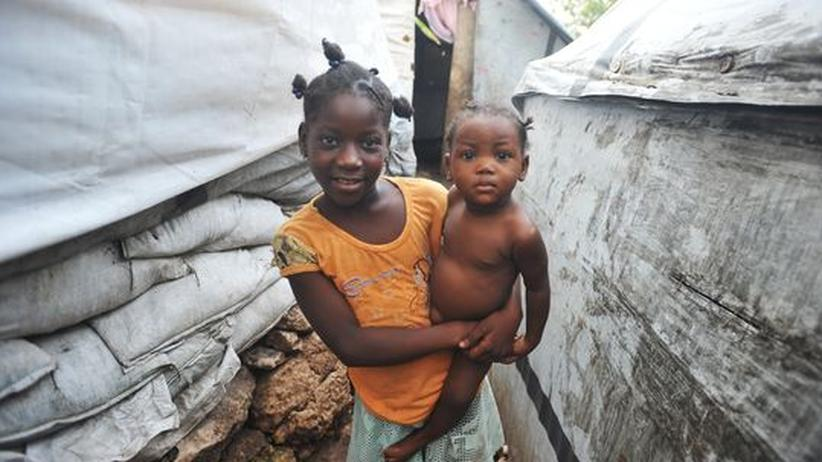 Hurrikan Sandy: Haiti ist die schlechtere Show