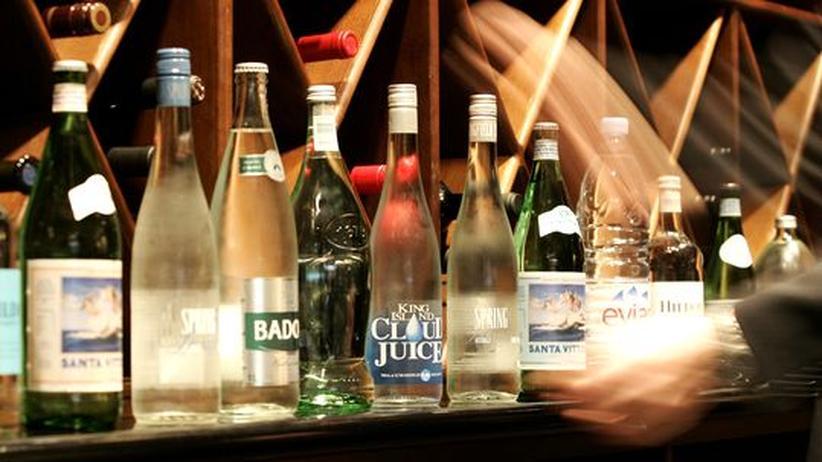 Edel-Mineralwasser: Ein ziemlich wässriger Luxus