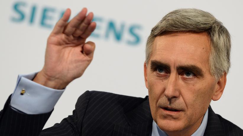 Siemens-Chef: Ein Top-Manager ohne Fortüne