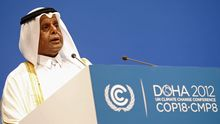 Der katarische Präsident Hamad Al-Attiyah