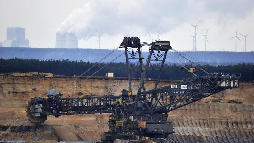 Energie: Braunkohle-Abbau im Tagebau Nochtem/Oberlausitz
