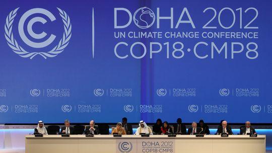 Mitglieder der Klimakonferenz in Doha