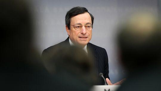 Der Mann mit der Bazooka: Mario Draghi, Chef der Europäischen Zentralbank