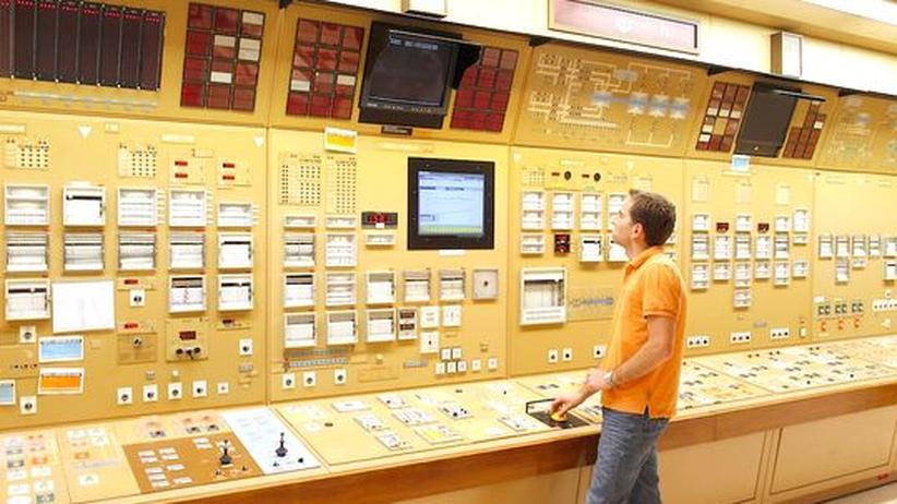 Energie: Kontrollraum des geplanten Reaktors in Flamanville (Archivbild)