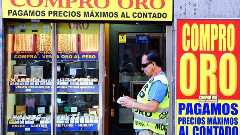 Wirtschaftskrise: Spanien versetzt das Familiengold