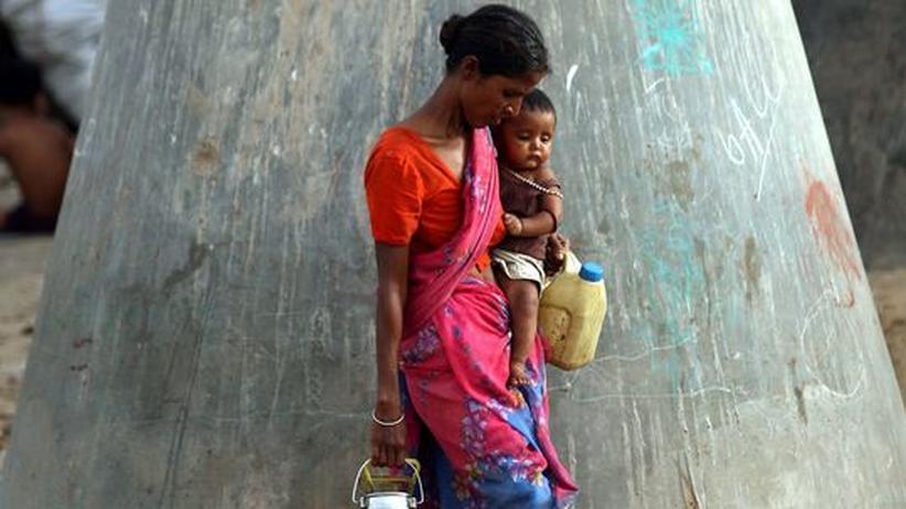 Indien: Das reiche Delhi ist so nah