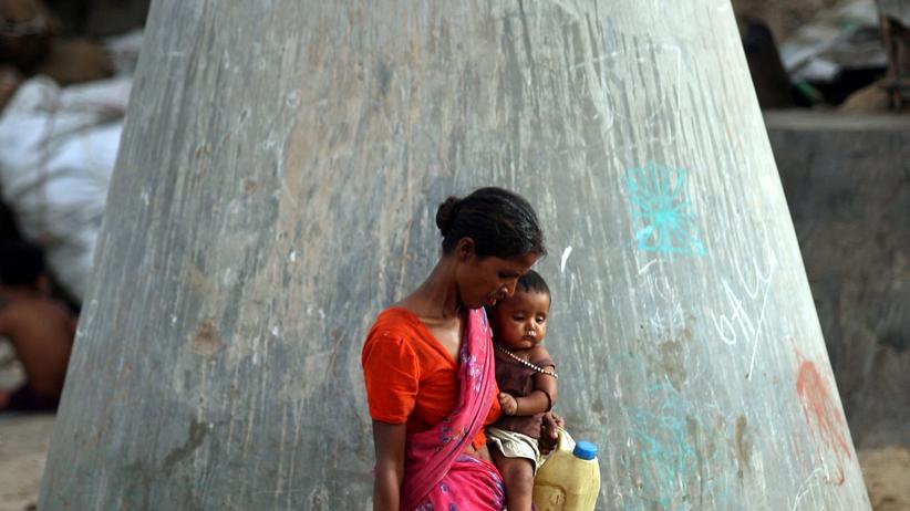 Indien: Elend zwischen Elite-Uni und Luxus-Mall