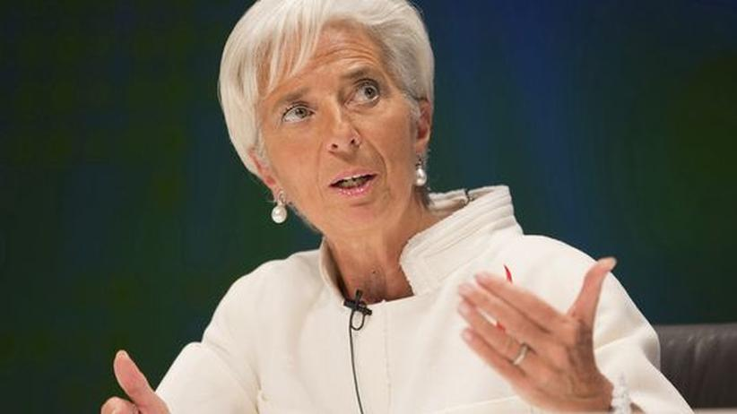 IWF-Chefin: Lagarde mahnt USA zur Einigung in der Haushaltspolitik