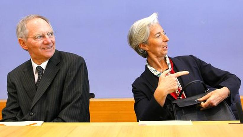 """Christine Lagarde: """"Er ist ein Freund"""""""