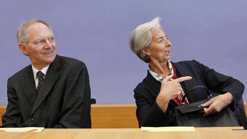 """Christine Lagarde: """"Wolfgang Schäuble ist ein Freund"""""""