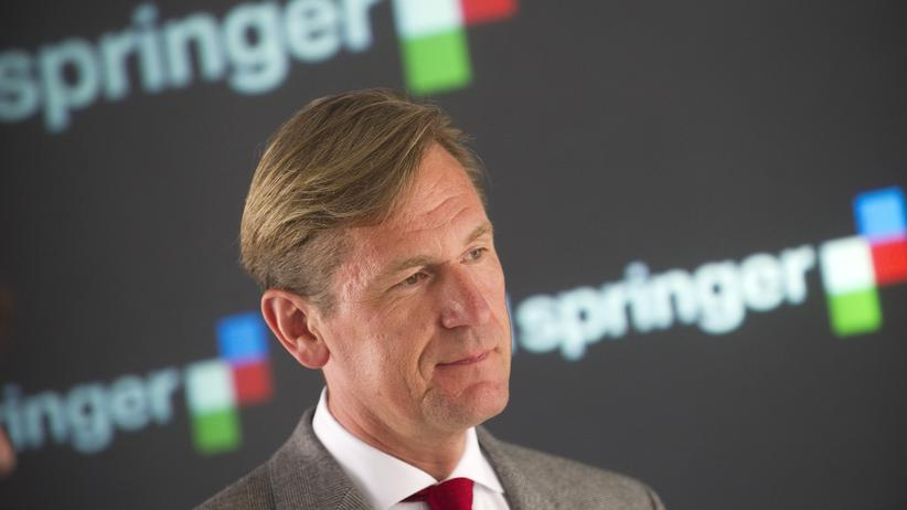 """Mathias Döpfner: """"Ich kann Ihnen auch verraten, wie man im Supermarkt klaut"""""""