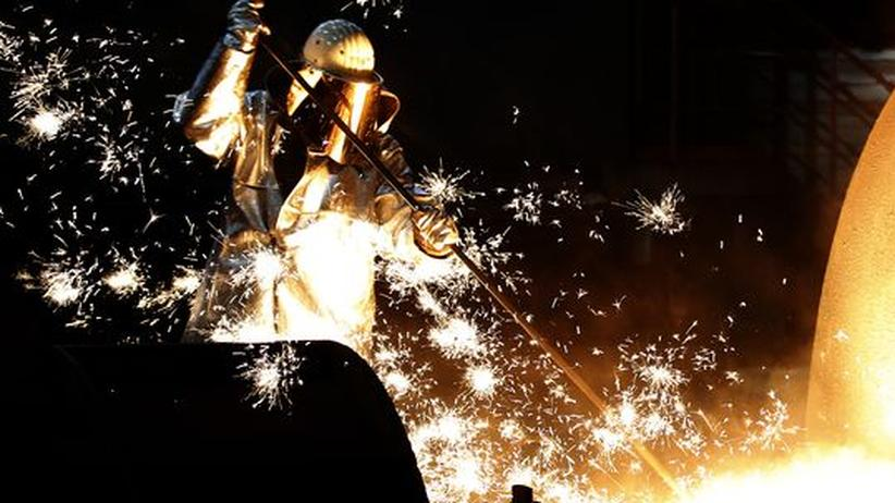 Stahlindustrie: ThyssenKrupp macht fünf Milliarden Euro Verlust