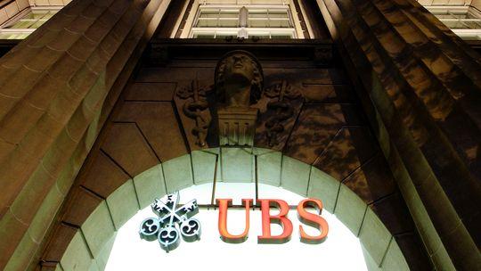Der Sitz der Schweizer Bank UBS in Zürich