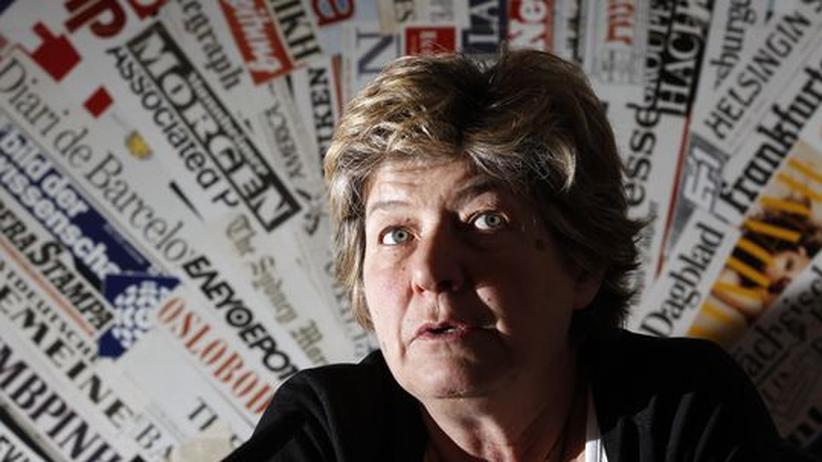 Die Generalsekretärin der italienischen Gewerkschaft General Confederation of Labour (CGIL), Susanna Camusso