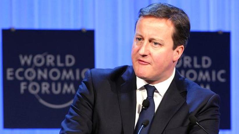 Weltwirtschaftsforum Davos: Cameron schließt Euro-Beitritt grundsätzlich aus