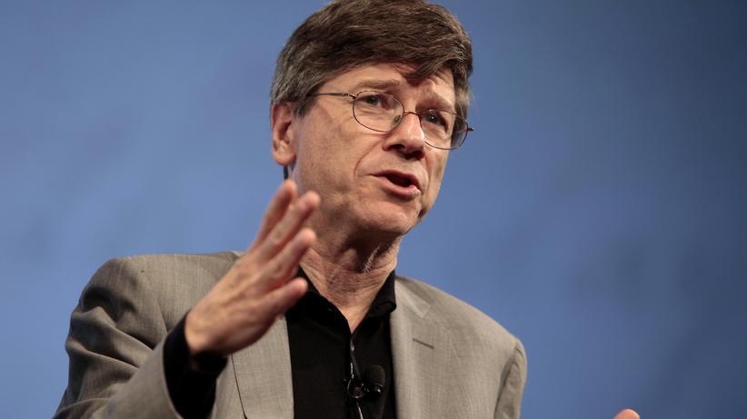 """US-Ökonom Jeffrey Sachs: """"Deutschland muss das durchziehen"""""""